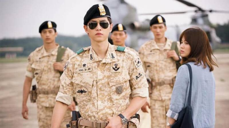 Drama Song Joong Ki - Descendants of the Sun