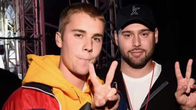 Biografi Justin Bieber - Justin dan Scooter Braun