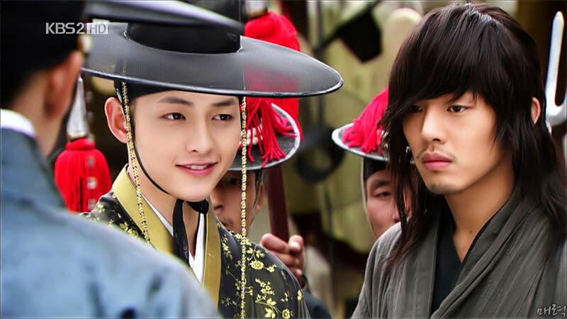 Biodata Song Joong Ki Lengkap - Song Joong Ki dan Yoo Ah In