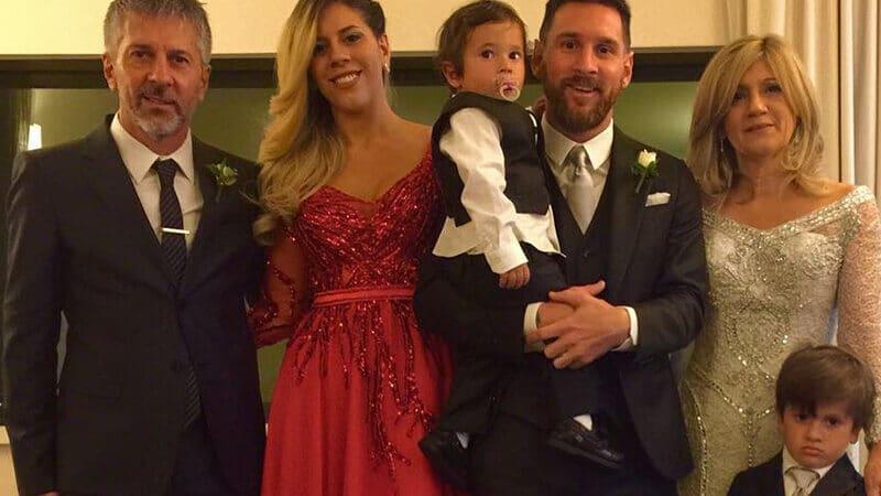 Foto Messi - Keluarga besar Messi
