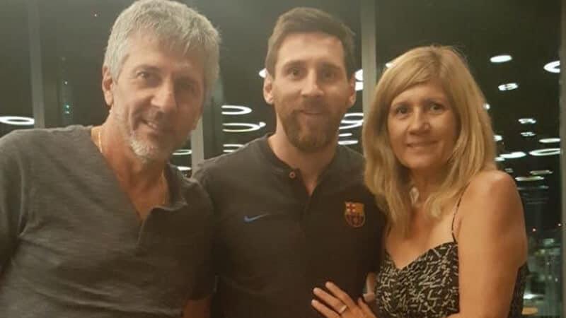 Foto Messi - Orang tua Messi