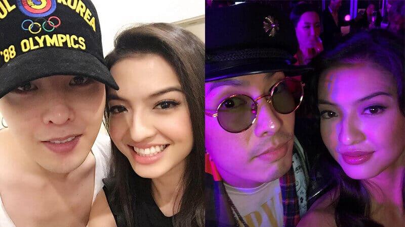 Instagram Raline Shah - G Dragon & Vaness Wu