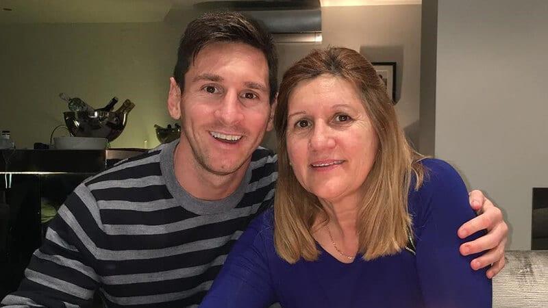 Biodata Lionel Messi - Leo dan Ibunya