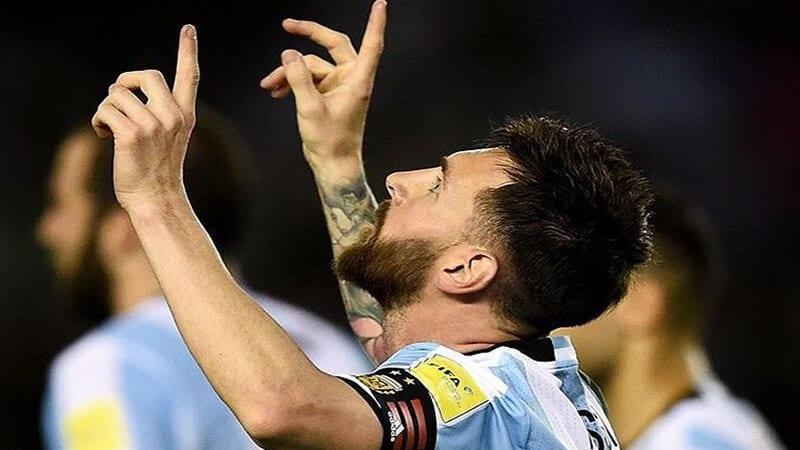 Biodata Lionel Messi - Gaya selebrasi Leo