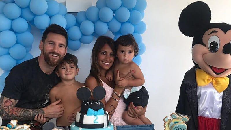 Biodata Lionel Messi - Leo dan keluarga
