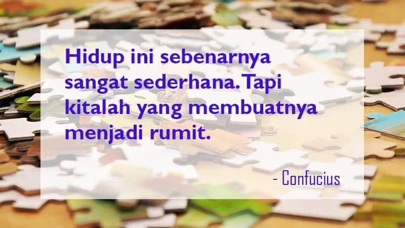 Kata Kata Mutiara Kehidupan - Confucius