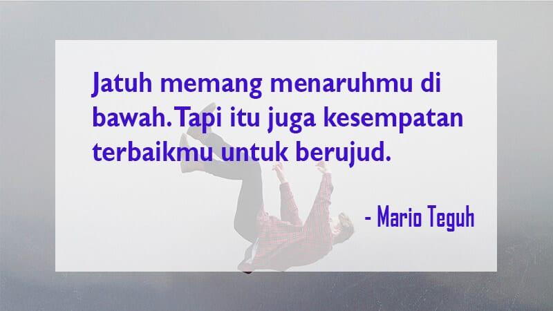 Kata Kata Mutiara Kehidupan - Mario Teguh
