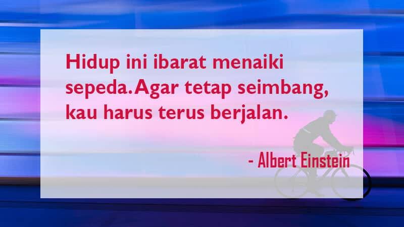 Kata Kata Mutiara Kehidupan - Albert Einstein