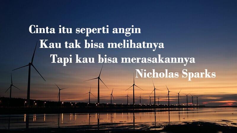 Kata kata mutiara cinta sejati - Nicholas Sparks