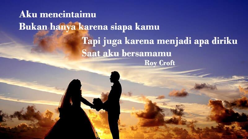Kata kata mutiara cinta sejati - Roy Croft