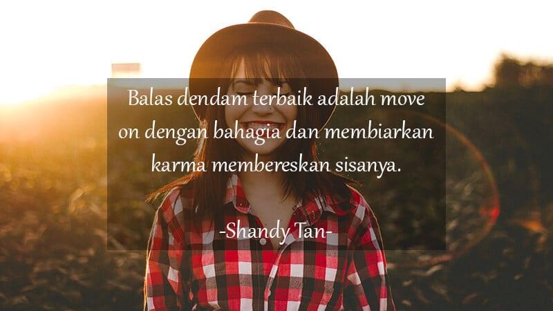 Kata Kata Motivasi Cinta - Shandy Tan