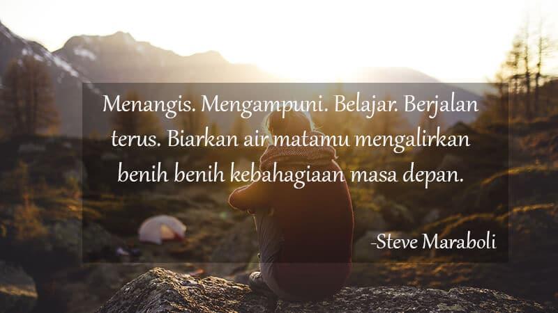 Kata Kata Motivasi Cinta - Steve Maraboli