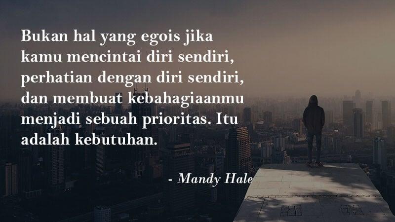 Kata Kata Motivasi Cinta - Mandy Hale