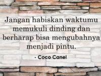 Kata Kata Motivasi Sukses - Coco Canel