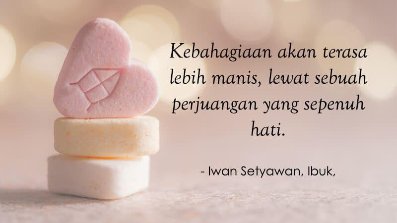 Kata Kata Motivasi Sukses - Iwan Setyawan