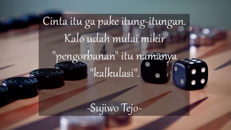 Kata Kata Lucu tentang Cinta - Sujiwo Tejo
