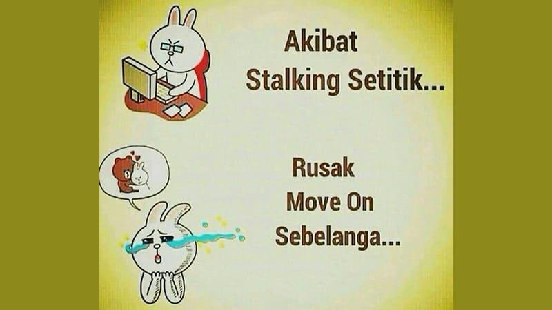 Gambar Lucu Bikin Ngakak - Gagal Move On