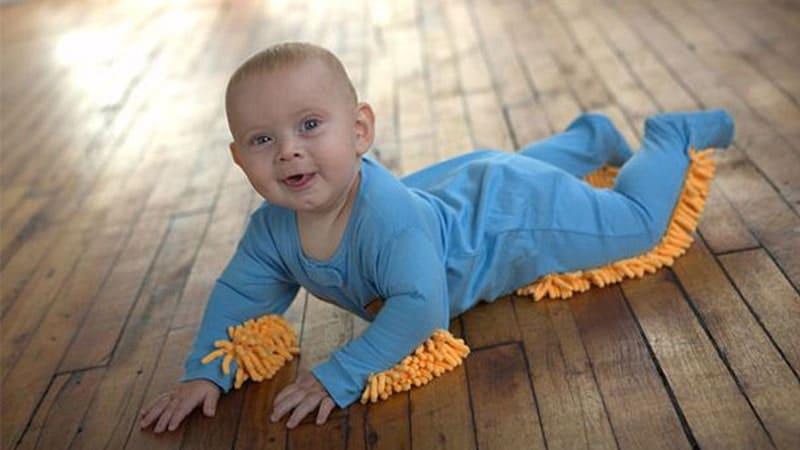 Gambar Lucu Bikin Ngakak - Pel Bayi
