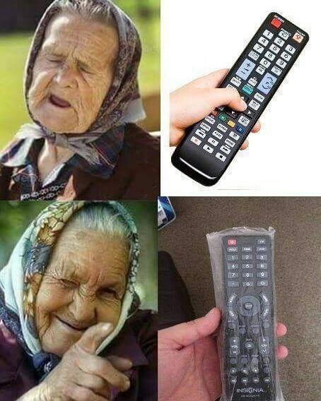 Gambar Lucu dan Unik - Remote TV