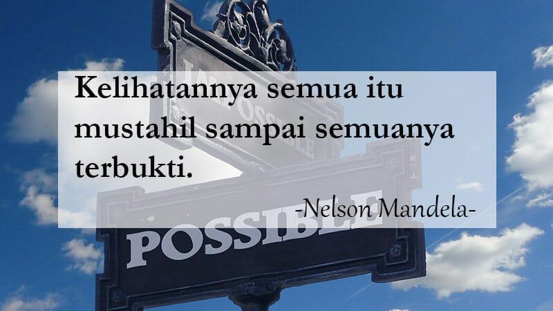 Kata-Kata Bijak Kehidupan - Nelson Mandela