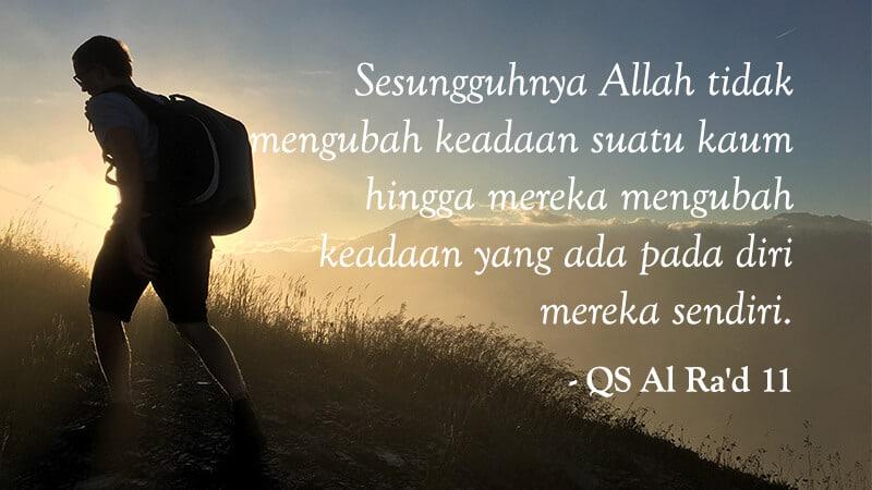Kumpulan Kata-Kata Motivasi Hidup - QS Al Ra'd