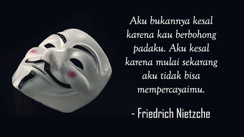 Kata Kata Kecewa untuk Seseorang - Friedrich Nietzche