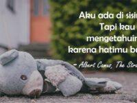 Kata Kata Kecewa untuk Seseorang - Kutipan Albert Camus
