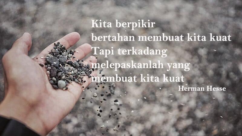 Kata kata putus cinta sedih - Herman Hesse
