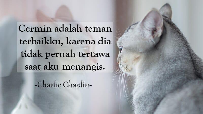 Kata Kata Sindiran buat Teman - Charlie Chaplin