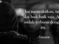 Kata Kata Sedih Kecewa - Anonim