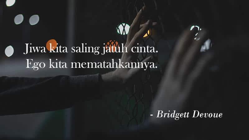 Status Bikin Baper - Bridgett Devoue