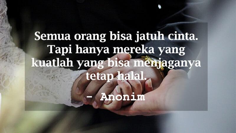 Kumpulan Motto Hidup Islami - Anonim Pernikahan