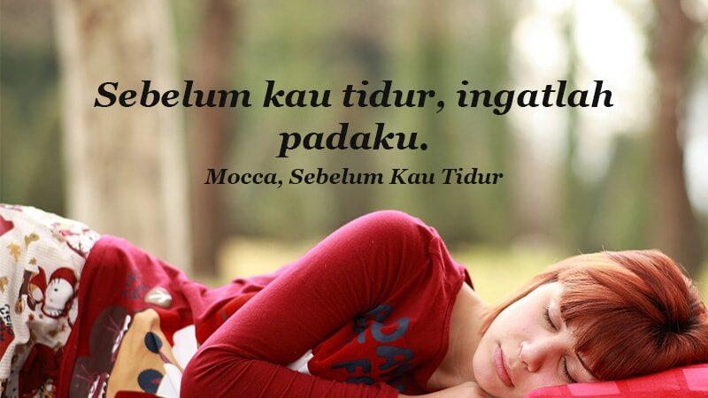 kata kata indah untuk kekasih - Mocca