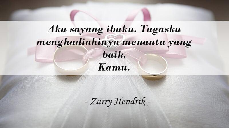 Kata Kata Gombal buat Pacar - Zarry Hendrik