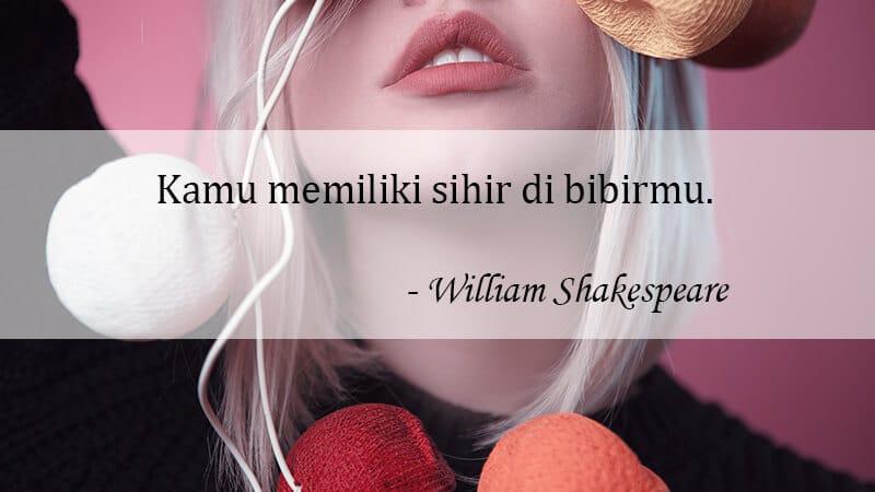 Kata Kata Gombal buat Pacar - William Shakespeare