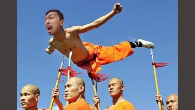 foto lucu dan gokil banget - kungfu
