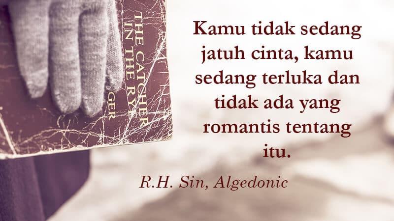 76+ Gambar Quotes Cinta Dari Novel Paling Keren