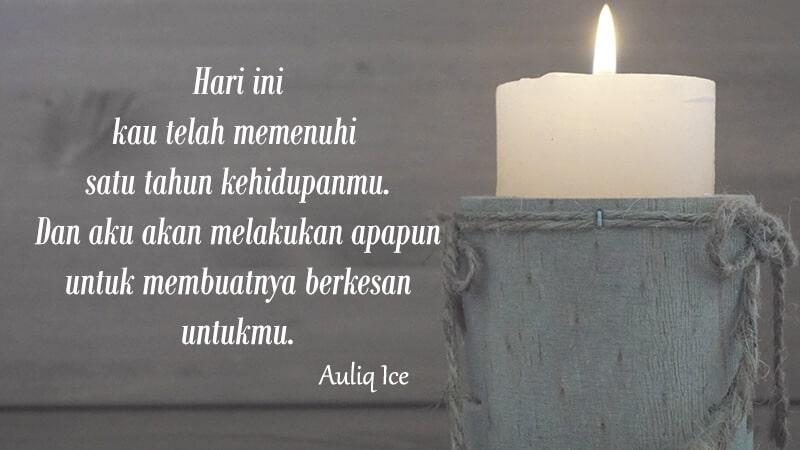 Ucapan selamat ulang tahun untuk orang spesial - Kutipan Ice