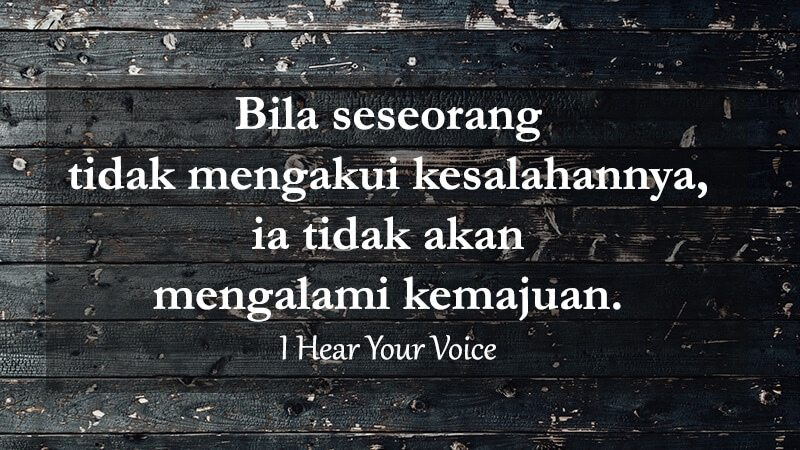 Caption Instagram Keren - I Hear Your Voice