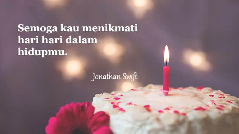Ucapan selamat ulang tahun untuk orang spesial - Kutipan Swift