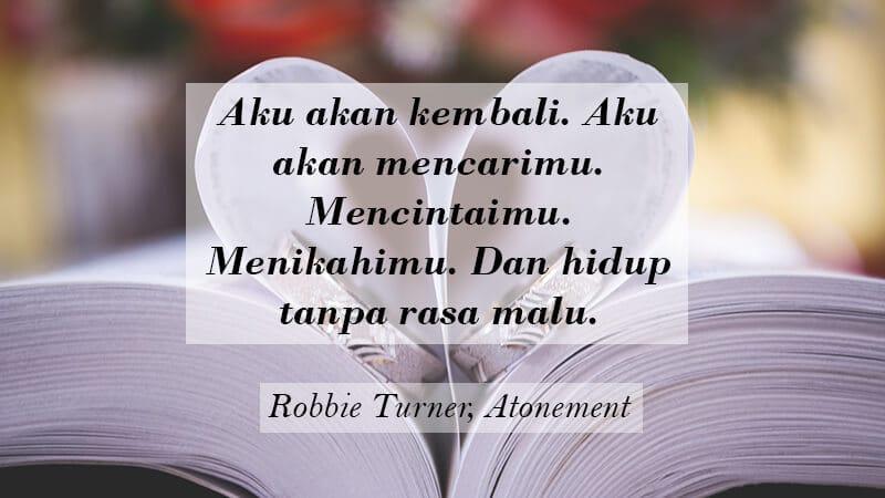 Kata Kata buat Pacar Tersayang - Robbie Turner