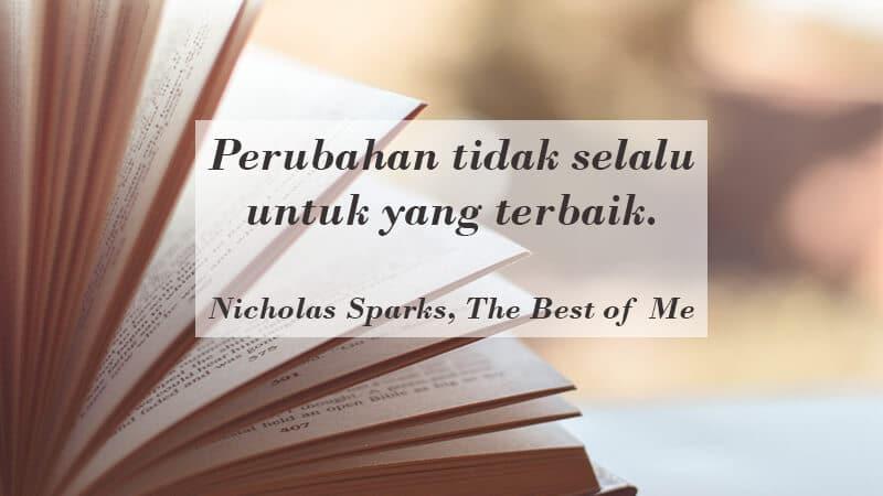 Kata Kata Indah Novel - Nicholas Sparks