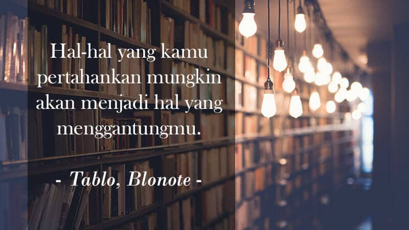 Kata Kata Indah Novel - Tablo
