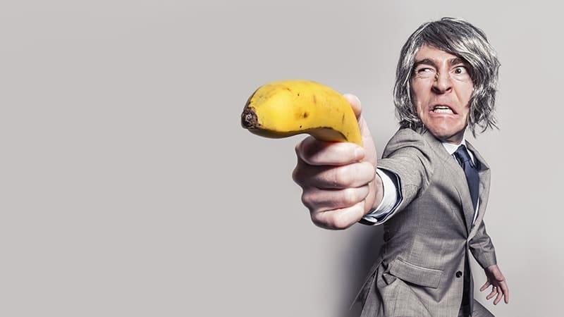 foto lucu dan gokil banget - pria pisang