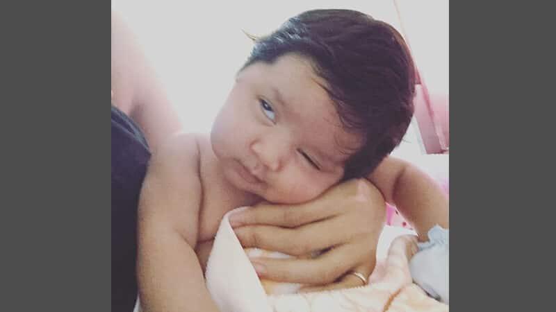 Foto foto bayi lucu - Muka teler