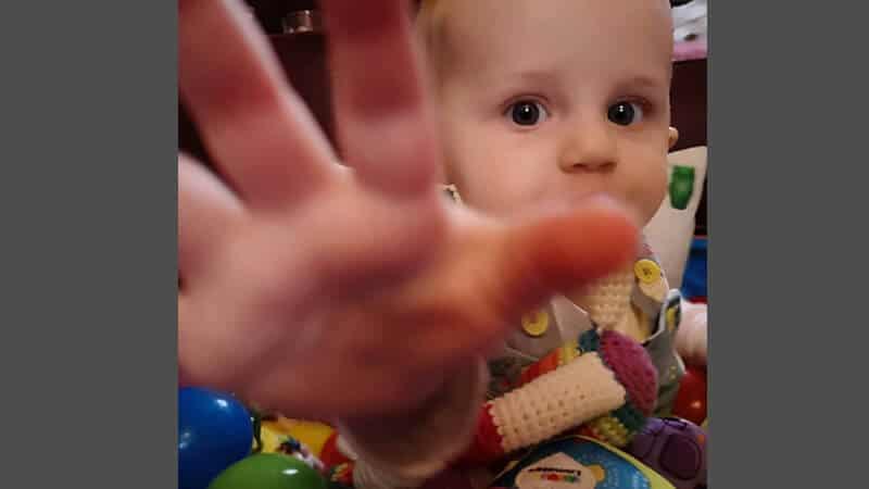 Foto foto bayi lucu - Menolak difoto