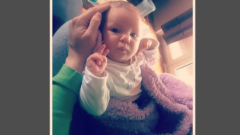 Foto foto bayi lucu - Gaya piss