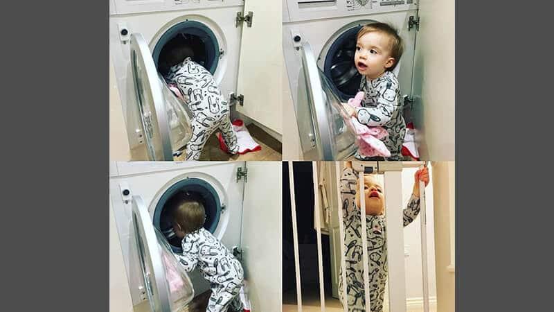 Foto foto bayi lucu - Balita yang rajin