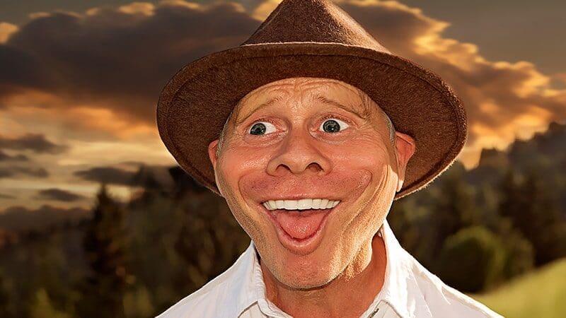 Foto foto artis lucu - Orang senyum