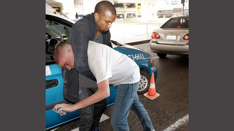 Foto foto artis lucu - Kanye West